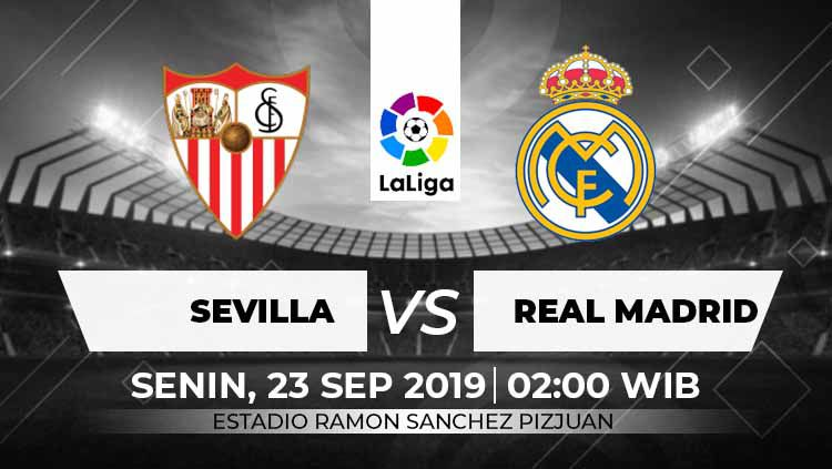 LaLiga Sevilla vs Real Madrid