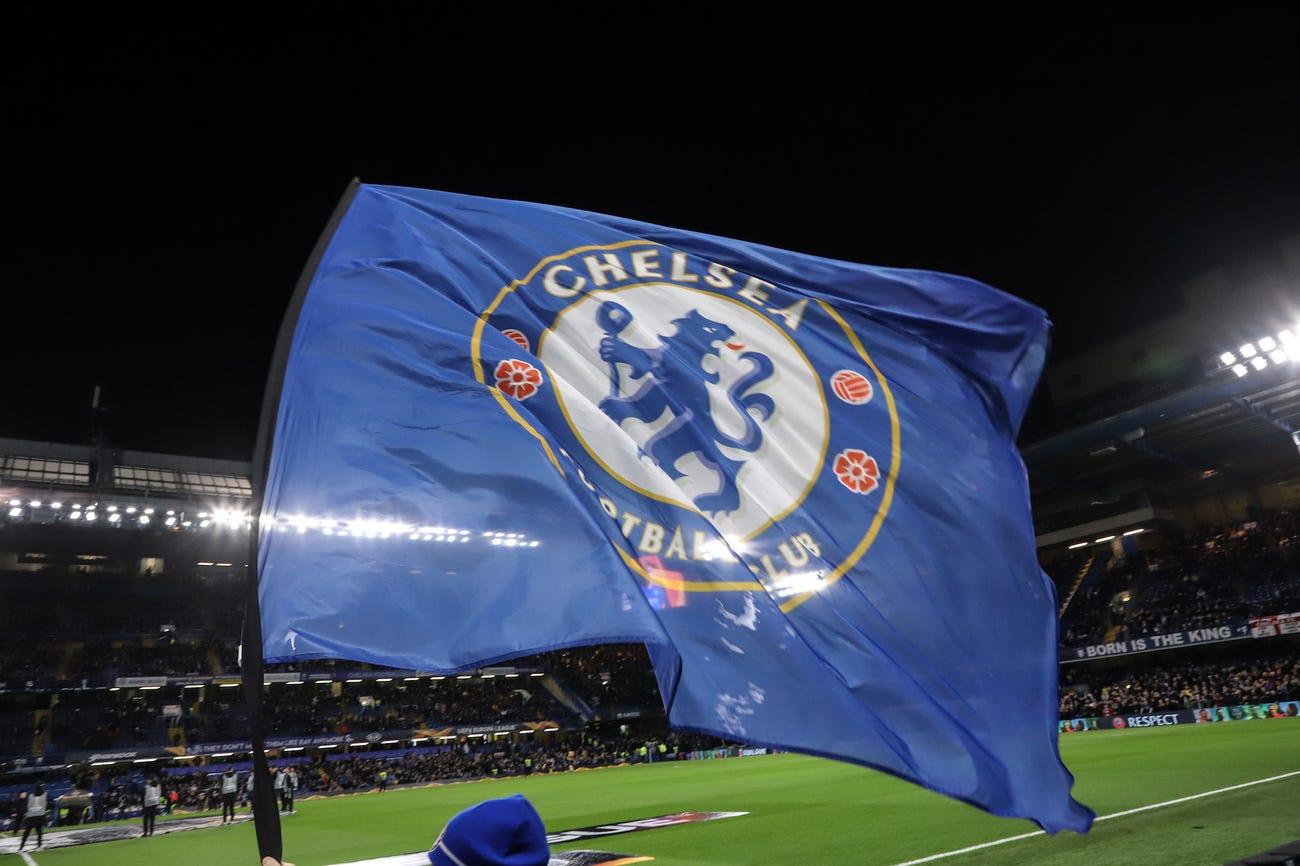 Chelsea FC Flag, England